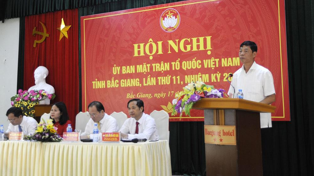 Promoting Fatherland Front's role in socio-economic development