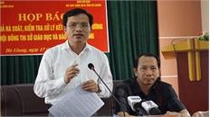 Thanh tra Bộ Giáo dục yêu cầu xử lý hai cán bộ thanh tra cắm chốt tại điểm thi Hà Giang