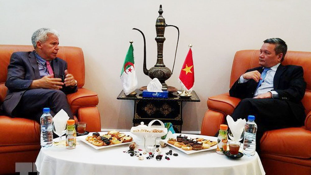 Vietnam promotes trade, investment in Algeria