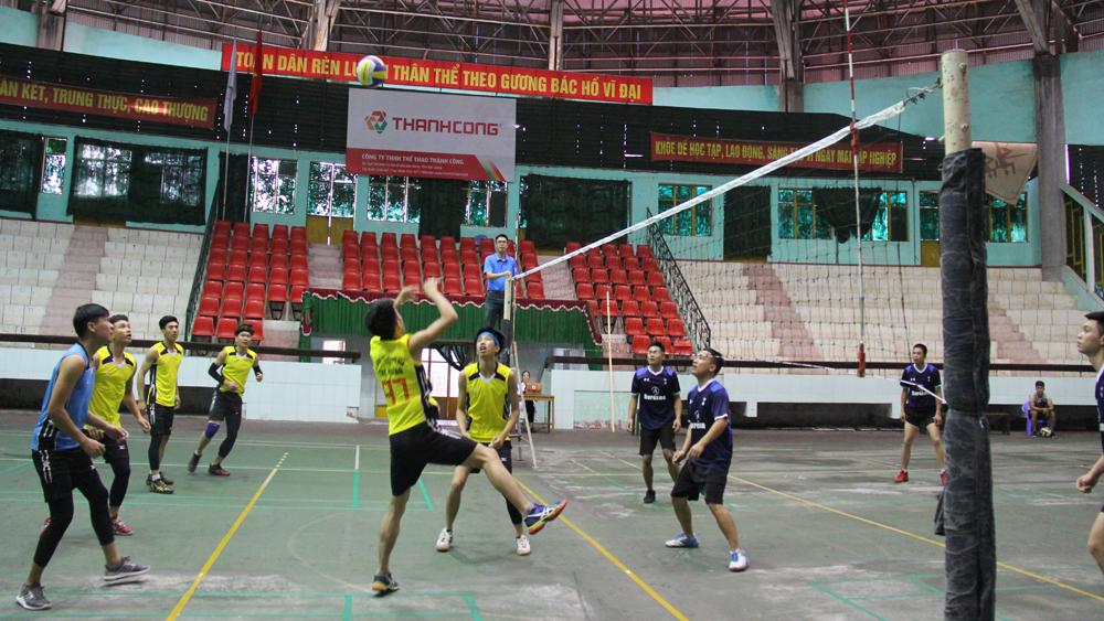 Khai mạc Giải vô địch bóng chuyền tỉnh Bắc Giang năm 2018