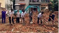 Bắc Giang: Khởi công xây nhà cho gia đình bà Trịnh Thị Mạn