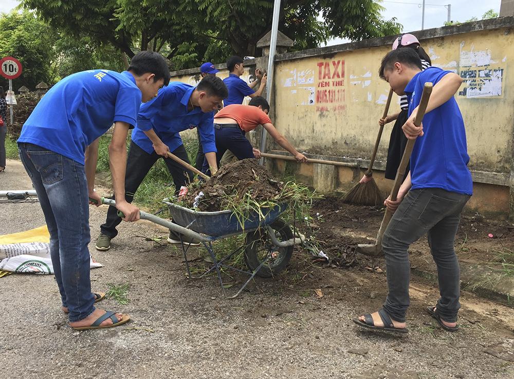 công trình thanh niên, vỉa hè, tuyến phố,Bắc Giang, Lạng Giang, Tân Yên, Yên Thế