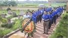 Tuổi trẻ Báo Bắc Giang, xã Tân Thanh tri ân các anh hùng liệt sĩ