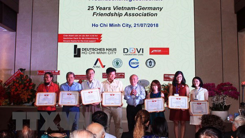 Association contributes to enhancing Vietnam-Germany friendship