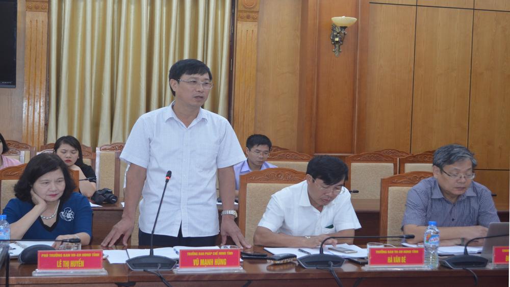 thường trực, HĐND tỉnh, Bắc Giang, họp tháng 7, cử tri