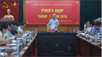 Thường trực HĐND tỉnh rút kinh nghiệm kỳ họp thứ 5, HĐND tỉnh khóa XVIII