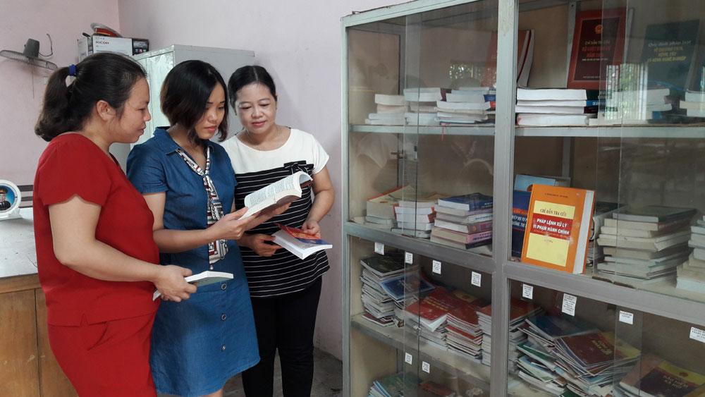 Hơn 8.600 đầu sách pháp luật phục vụ hội viên phụ nữ