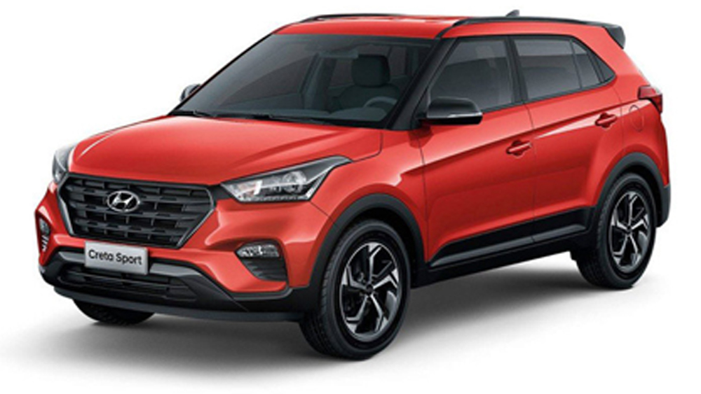 Hyundai Creta Sport 2019 ra mắt, giá 600 triệu đồng