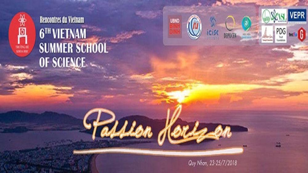 Vietnam Summer School , Science School, Quy Nhon city, official activities, 2018 Rencontres du Vietnam, Meeting Vietnam programme, Passion Horizon