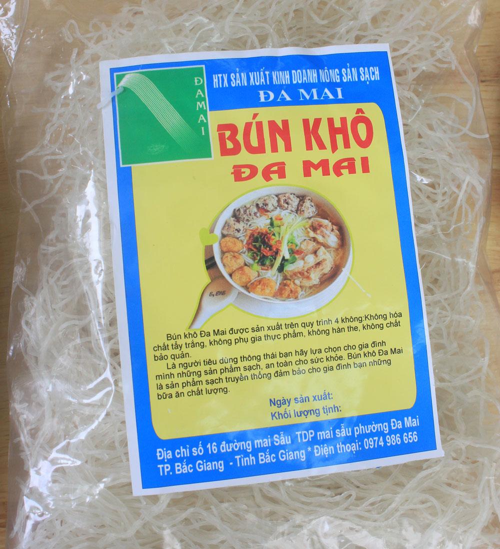 Women, Da Mai ward, start up, dried vermicelli, Bac Giang province, Fresh vermicelli,  solar energy, startup idea, safe farm produce, local people