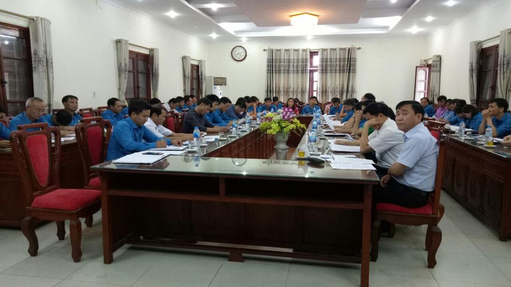 Liên đoàn Lao động huyện Tân Yên triển khai nhiệm vụ những tháng cuối năm
