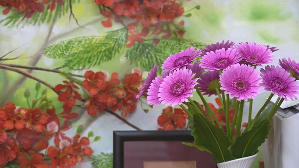 Beautify your life, clay flowers, Mother nature, artificial flowers, Vietnamese enthusiasts, good quality, eye-catching, typical flower
