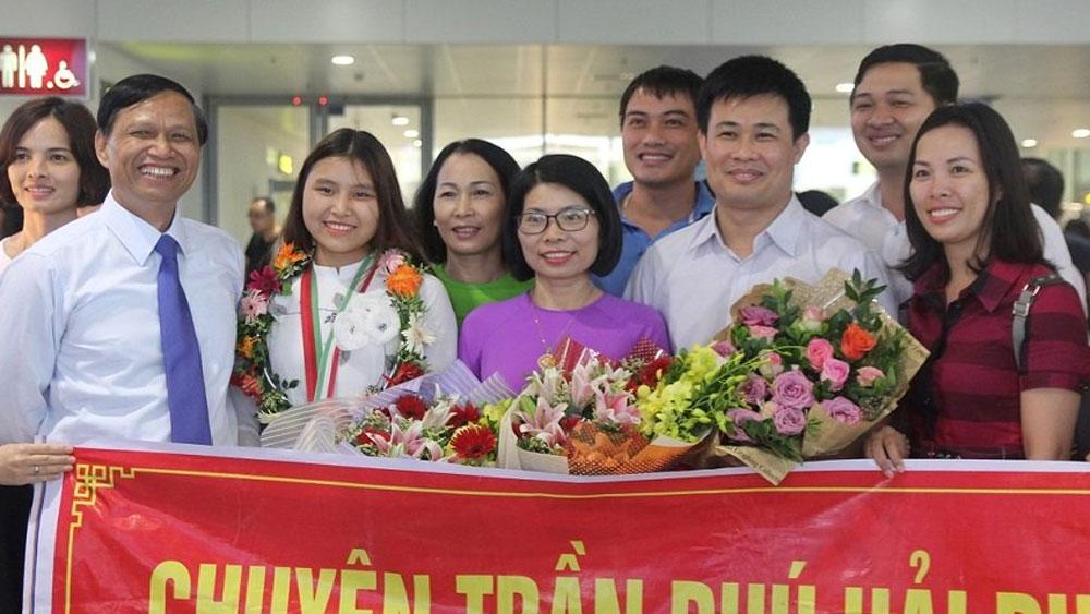 Hải Phòng thưởng 500 triệu đồng cho nữ sinh giành HCV Olympic  Sinh học quốc tế