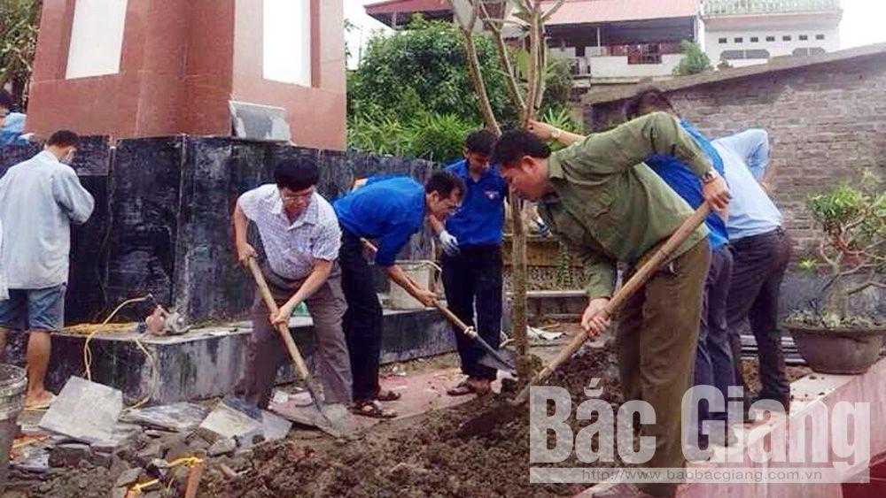 1,2 tỷ đồng cải tạo, nâng cấp Nghĩa trang liệt sĩ phường Đa Mai