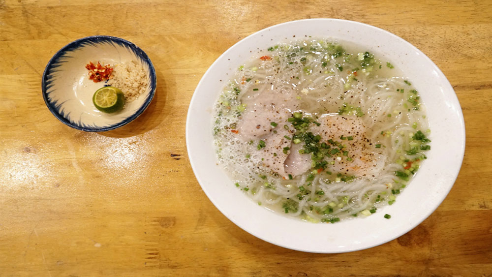 Noodles don't get any fresher than at this Saigon soup stall