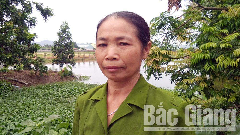 Cựu chiến binh Lê Thị Thông: Góp sức cho làng quê sạch đẹp