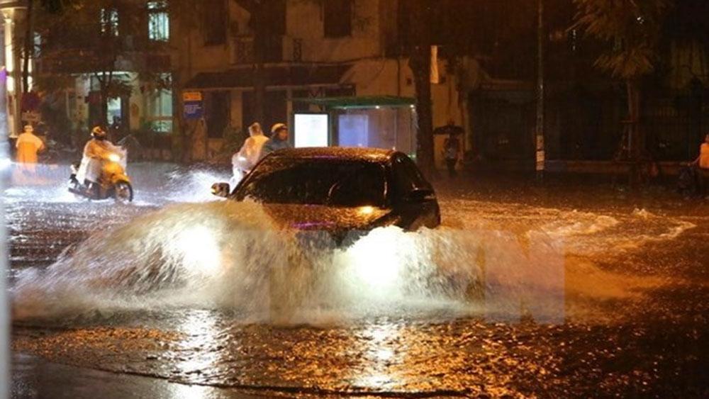 Các tỉnh Bắc Bộ, Thanh Hóa và Nghệ An có mưa to, đề phòng tố lốc