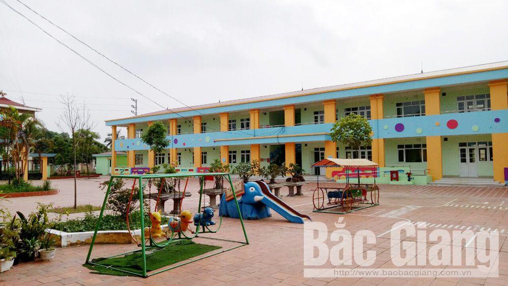 Xây mới 8 phòng học Trường Mầm non Đồng Sơn TP Bắc Giang