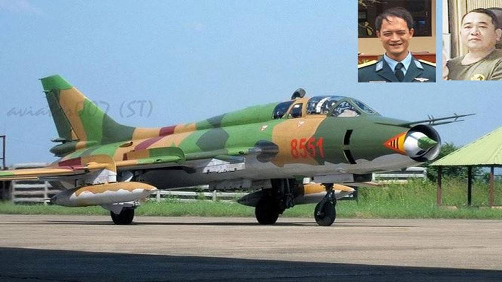 Tổ chức lễ tang hai phi công hy sinh trong vụ rơi máy bay Su-22