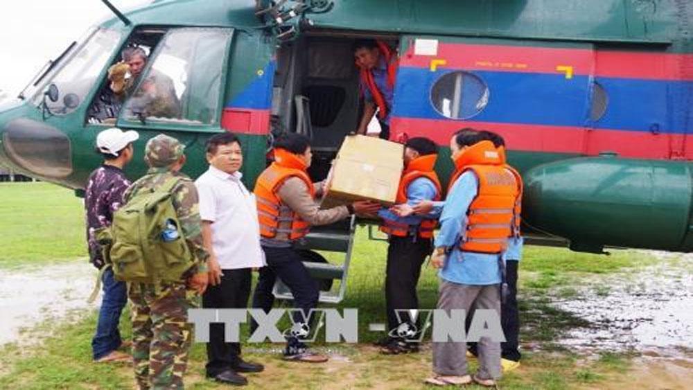 Đề xuất cấp hàng dự trữ quốc gia hỗ trợ Lào khắc phục sự cố vỡ đập thủy điện