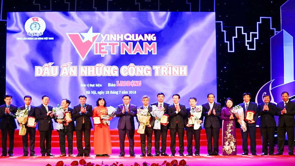 """Chương trình """"Vinh quang Việt Nam - Dấu ấn những công trình"""": Vinh danh 8 công trình tiêu biểu của đất nước"""
