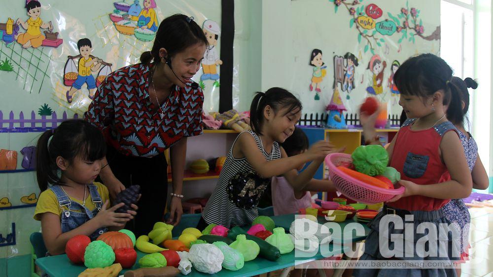 Bắc Giang: Đến năm 2020 sẽ sáp nhập 130 trường mầm non, tiểu học, THCS