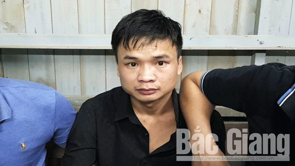 Công an huyện Lạng Giang bắt đối tượng vận chuyển trái phép ma túy
