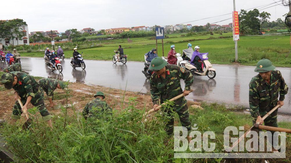 Việt yên, cán bộ, vệ sinh môi trường