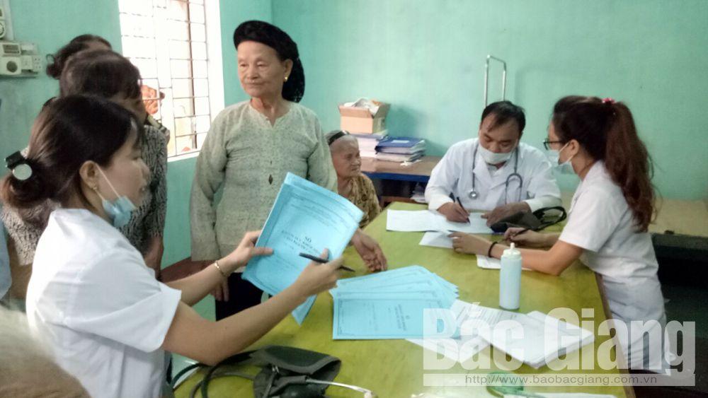 TP Bắc Giang tỷ lệ tham gia bảo hiểm y tế cao nhất tỉnh