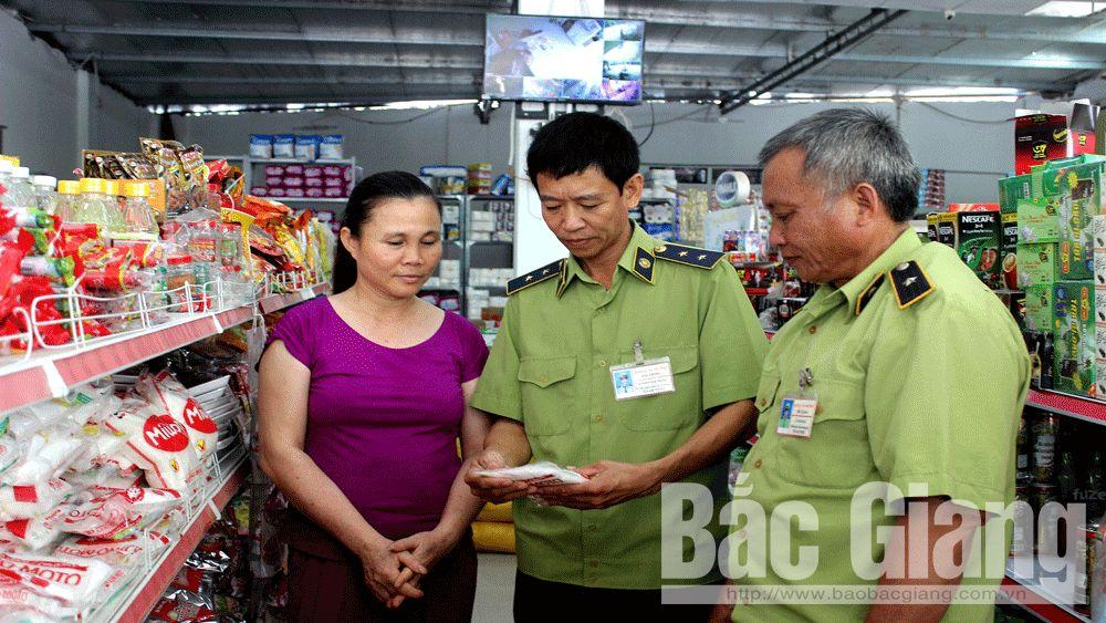 Sơn Động: Tăng cường xử lý vi phạm lĩnh vực buôn lậu, gian lận thương mại và hàng giả