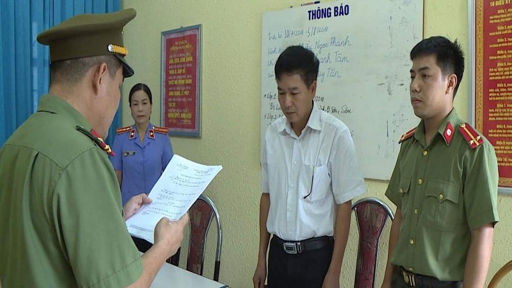 Vụ gian lận điểm thi: Khởi tố Phó Giám đốc Sở Giáo dục Sơn La Trần Xuân Yến
