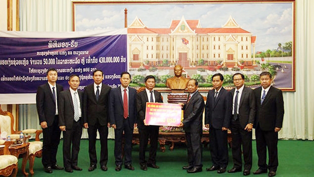 Additional support to assist Lao people over dam incident
