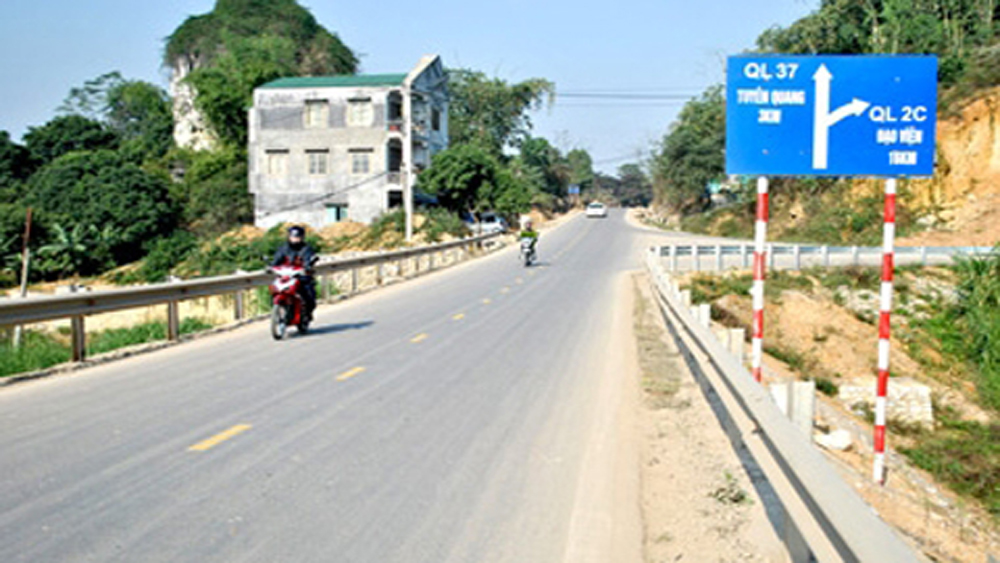 Bac Giang invests over 59 billion VND in repairing national road