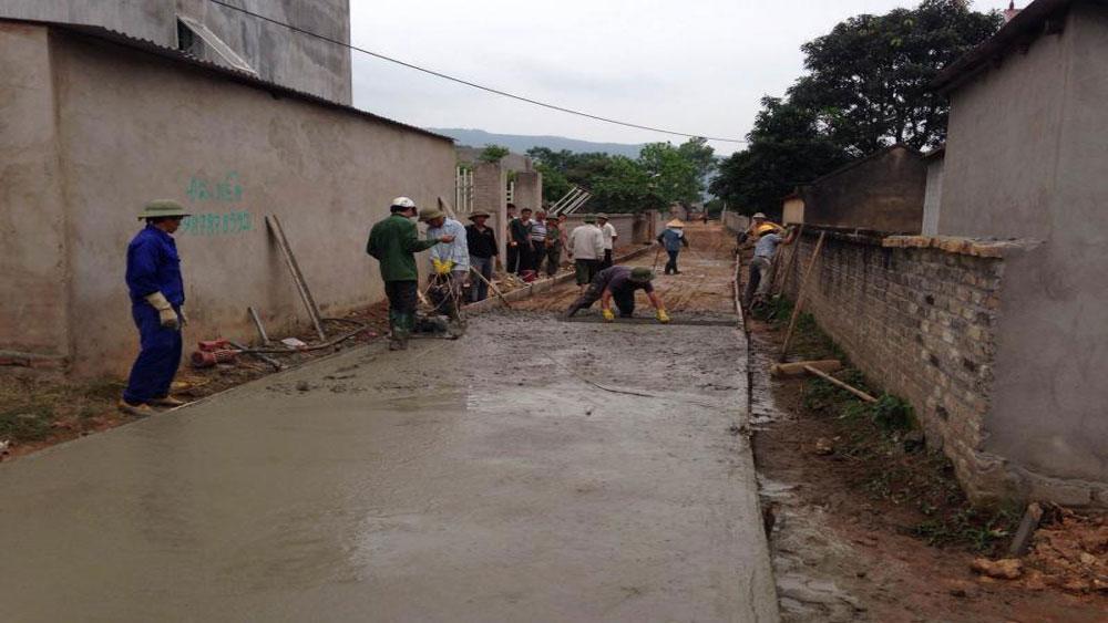 Ba công trình chào mừng Đại hội Hội Nông dân tỉnh Bắc Giang