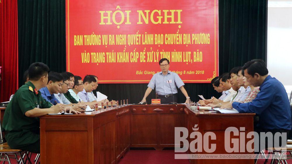 Ban Chỉ huy PCTT-TKCN thành phố tổ chức diễn tập hội nghị ứng phó lụt bão