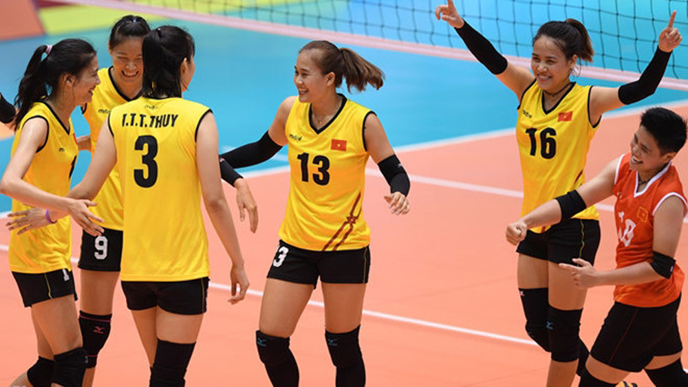 VTV Volleyball Cup 2018 features six international teams