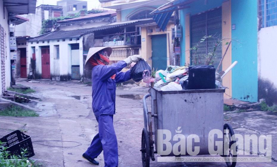 Khắc phục khó khăn, tăng thu từ dịch vụ vệ sinh môi trường