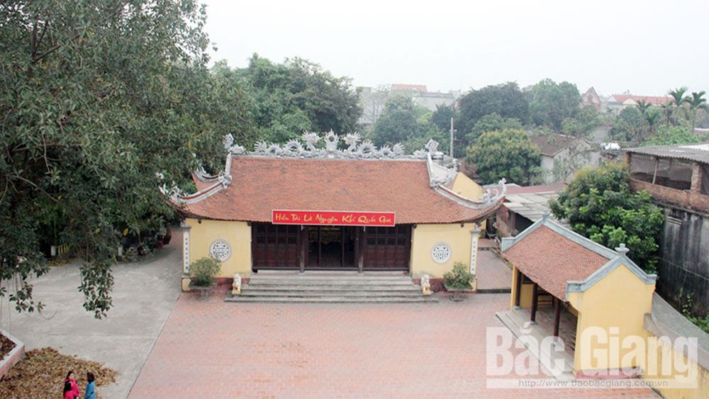 Relics honour Bac Giang's learning tradition