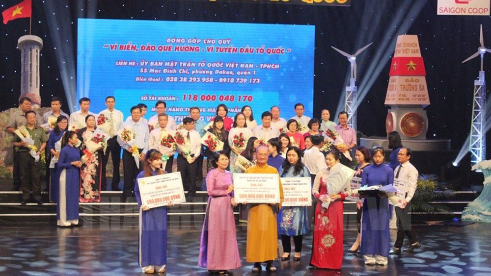 Over VND43 billion raised for sea and islands