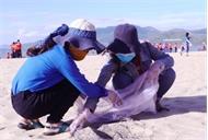 1.000 đoàn viên, thanh niên bảo vệ môi trường biển