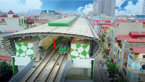 Chạy thử đường sắt đô thị Cát Linh-Hà Đông
