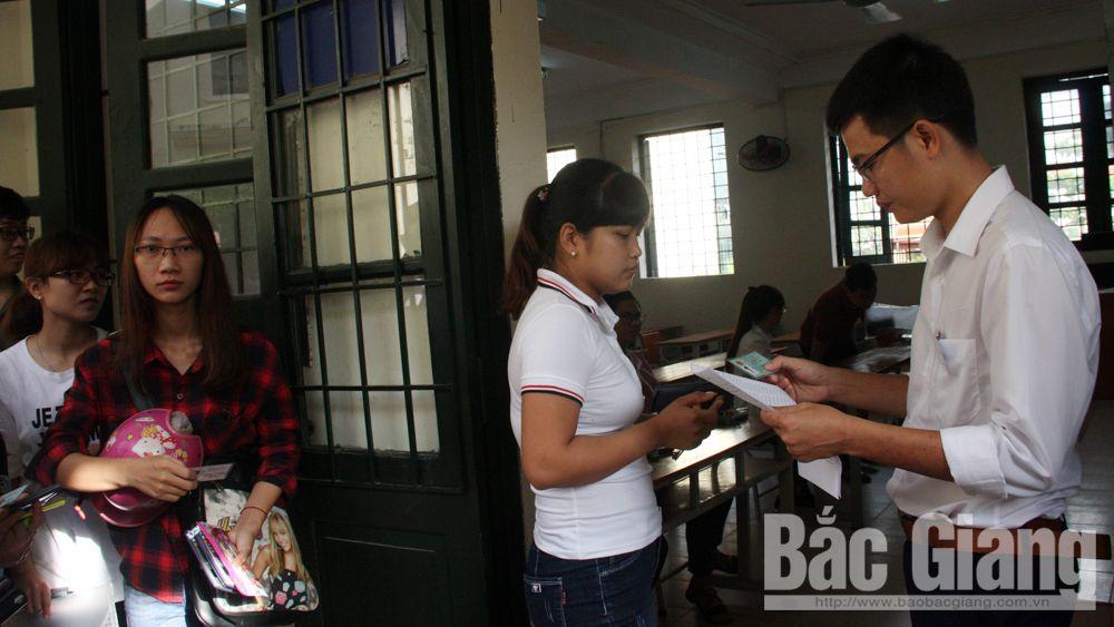 Bắc Giang: Gần 4 nghìn thí sinh tham gia kiểm tra sát hạch giáo viên