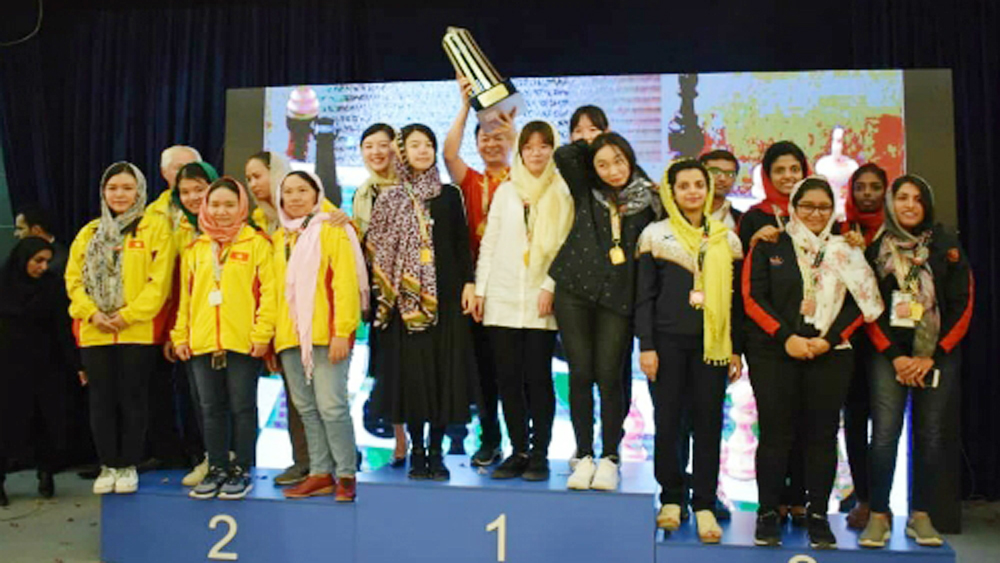 Vietnamese women claim silver at Asian Nations Cup chess event