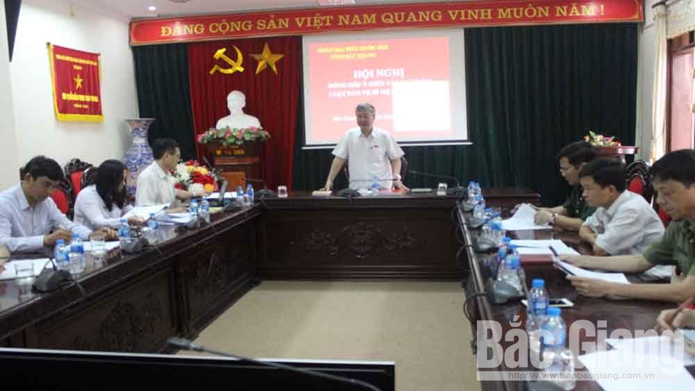 Đoàn ĐBQH tỉnh Bắc Giang góp ý vào dự thảo Luật Bảo vệ bí mật nhà nước