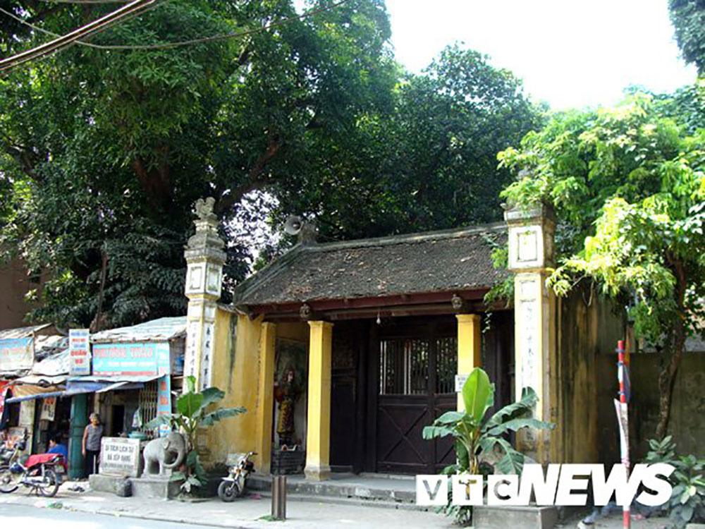 Bí ẩn, đột tử, muỗm ngàn tuổi, ngôi đền, Hà Nội