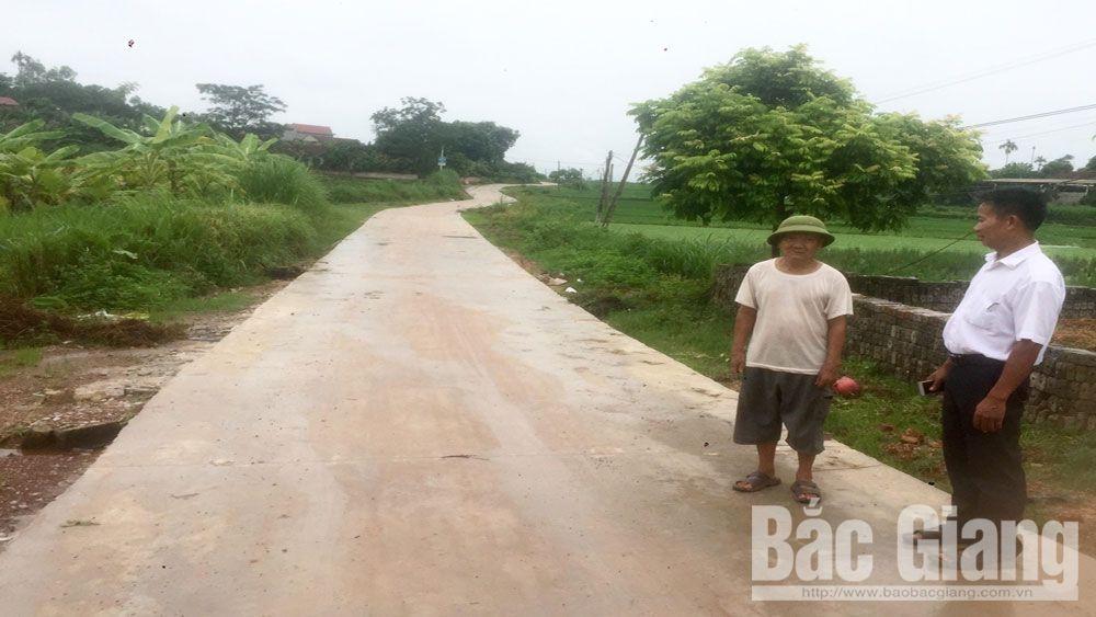 Tiên Lục- Điển hình trong cứng hóa giao thông nông thôn