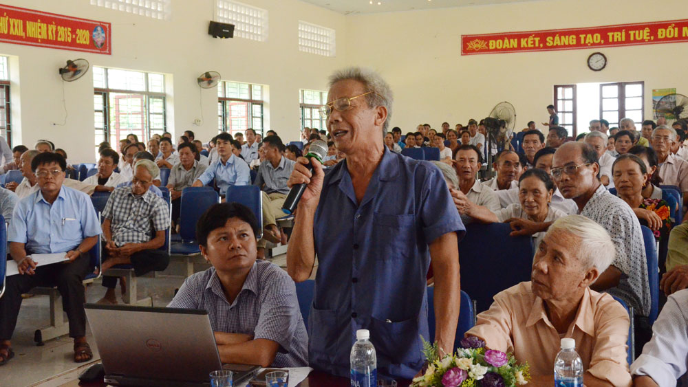 Người đứng đầu cấp ủy, chính quyền ở Tân Yên: Lắng nghe, kịp thời giải quyết việc khó