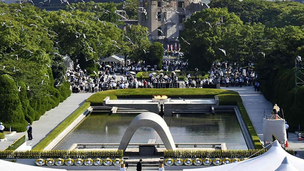 Tưởng niệm 73 năm Ngày bom nguyên tử ném xuống Hiroshima
