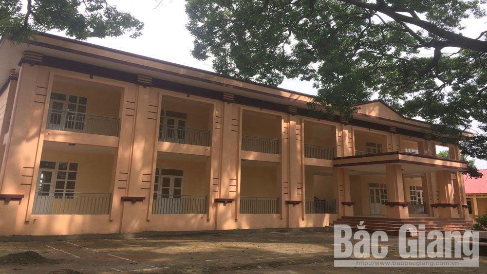 Lạng Giang,  kiên cố hóa trường lớp, chuẩn bị năm học mới 2018- 2019, Bắc Giang