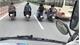 Xử lý nhóm thanh niên phóng xe máy dàn hàng ngang trước đầu ô tô trên quốc lộ
